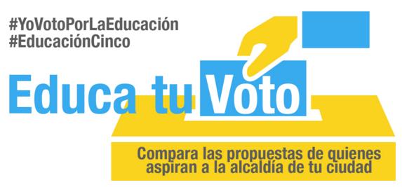 Educa tu Voto: ¿sabes qué tipo de Educación eligirás para tu ciudad?