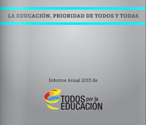 La educación, compromiso de todas y todos en 2015